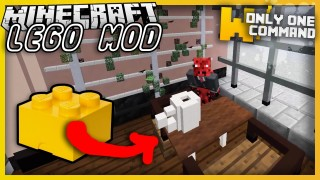 Minecraft: LEGO Mod 2.0 Only One Command (1.11.2)