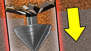 Minecraft: Magic Mining Drill Only One Command