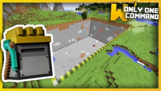 Minecraft: Customizable Quarries Only One Command