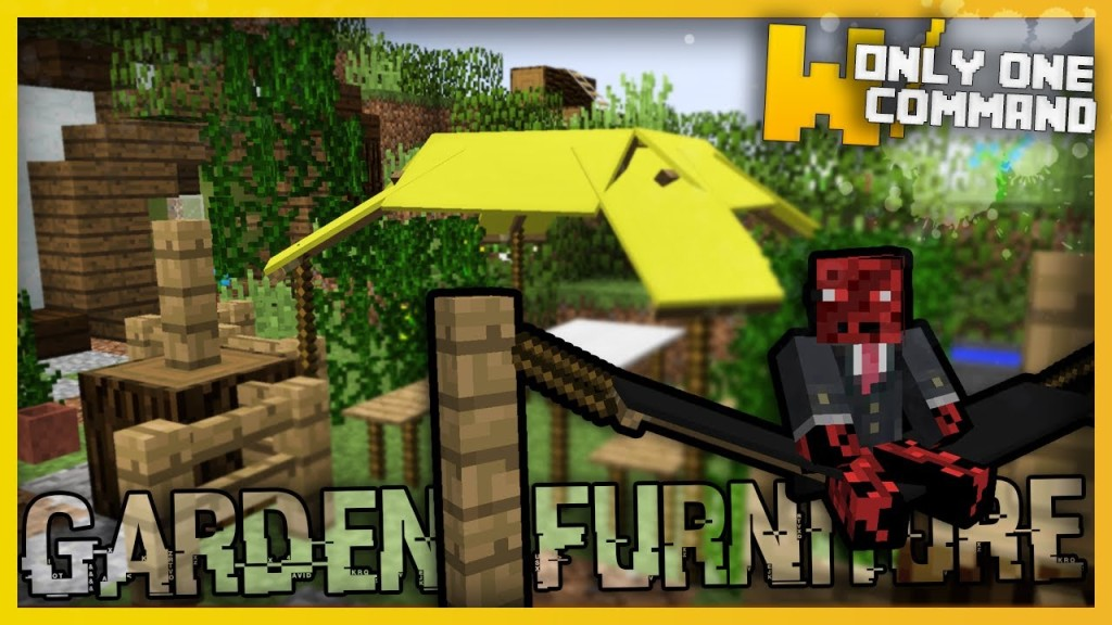 Minecraft Garden Furniture Only Two Command