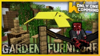 Minecraft: Garden Furniture Only Two Command