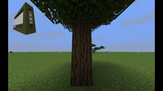 Minecraft: Timber Only One Command