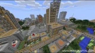Minecraft: City Generator Only One Command