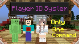 Minecraft: Player ID System for Servers Only One Command