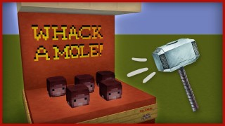 Minecraft: Whack A Mole Only One Command