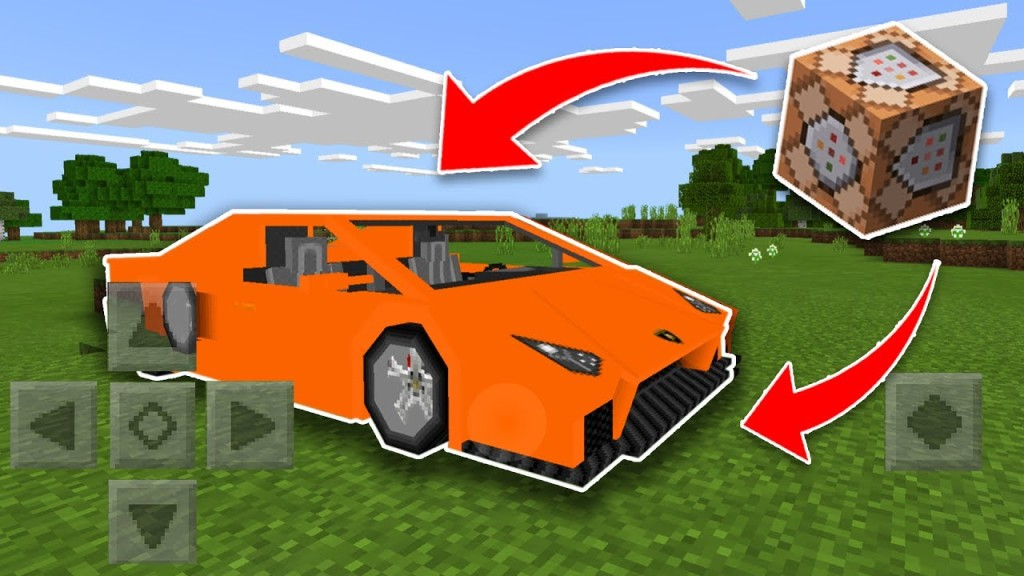 Minecraft Working Race Car Only One Command Only One Command