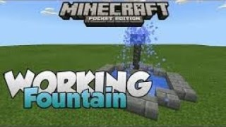 Minecraft: Working Fountain Only One Command