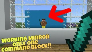 Minecraft: Working Mirror Only One Command