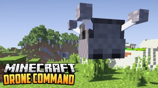 Minecraft: Working Drone Only One Command