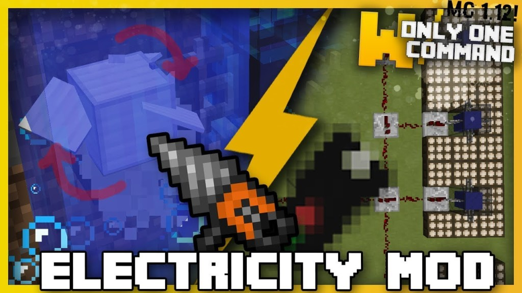 Minecraft Electricity Mod Only One Command Only One Command