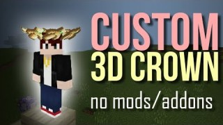 Minecraft: Custom Crown Only One Command