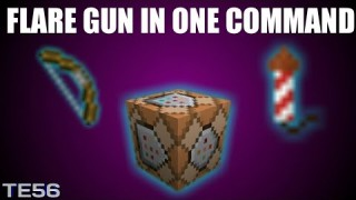 Minecraft: Flare Gun Only One Command