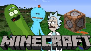 Minecraft: Rick and Morty Only One Command