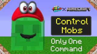 Minecraft: Super Mario Odyssey Only One Command