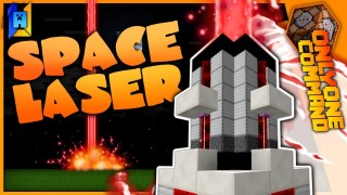 Minecraft: Space Laser Only One Command