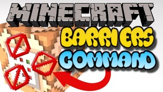 Minecraft Xbox: Block Barriers Only One Command