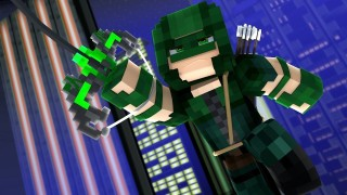 Minecraft: Green Arrow Only One Command