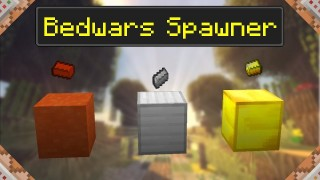 Minecraft: Bedwars Spawner Only One Command