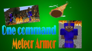 Minecraft: Meteor Armor Only One Command