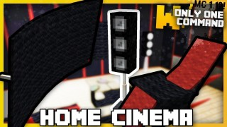 Minecraft: Home Cinema Only One Command