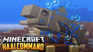 Minecraft: Become A Shark Only One Command