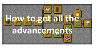 Minecraft: All Advancements Only One Command