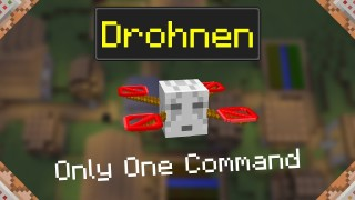 Minecraft: Drones Only One Command (v2)
