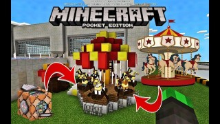 Minecraft Pocket Edition: Carousel Only One Command