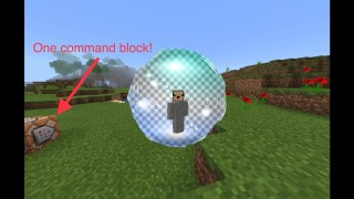 Minecraft Pocket Edition: Flare Gun Only One Command v2