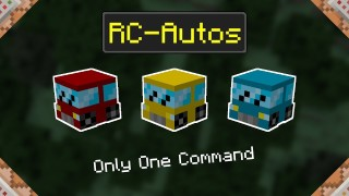 Minecraft: RC Cars Only One Command