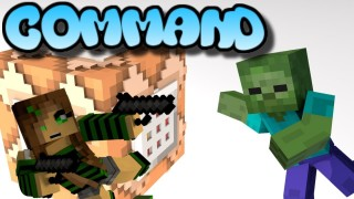 Minecraft: Endless Waves Of Mobs Only One Command