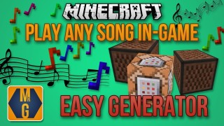 Minecraft: Generate Any Song Into Commands Only One Command