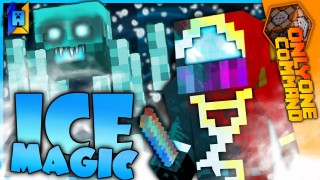 Minecraft: Ice Magic Only One Command (v2)