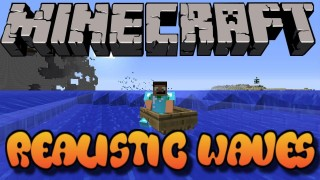 Minecraft: Realistic Waves Only One Command