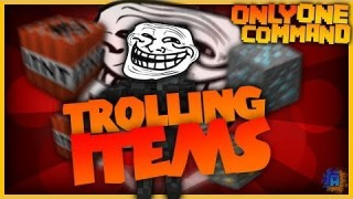 Minecraft: The Troll Only One Command