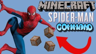 Minecraft: Marvel's Spiderman Only One Command