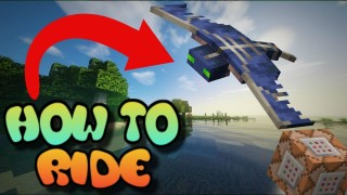 Minecraft: Riding a Phantom Only One Command