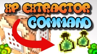 Minecraft: XP Extractor Only One Command