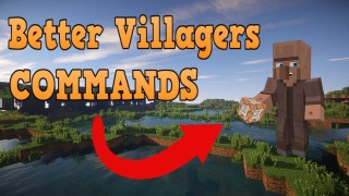 Minecraft: Better Villagers Only One Command