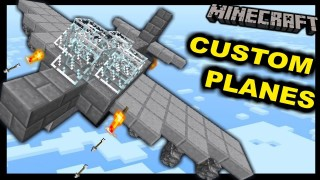Minecraft: Custom Planes Only One Command