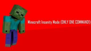 Minecraft: Insanity Mode Only One Command