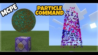 Minecraft: New Particle Only One Command