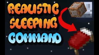 Minecraft: Realistic Sleeping Only One Command
