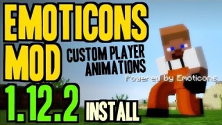 Minecraft: Emoticons Only One Command