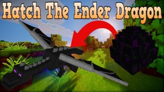 Minecraft: How To Hatch The Ender Dragon Egg Only One Command
