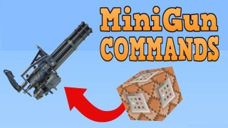 Minecraft: Minigun Only One Command