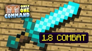 Minecraft: Combat Update Only One Command