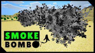 Minecraft: Smoke Bomb Only One Command