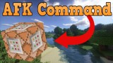 Minecraft: AFK Only One Command