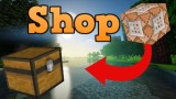 Minecraft: Shop Only One Command